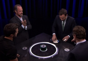 Jimmy Fallon Played 'Catchphrase' With Chris Meloni And Luke Bryan