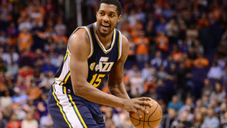 Why Derrick Favors' Snub From Team USA Minicamp Makes Absolutely No Sense