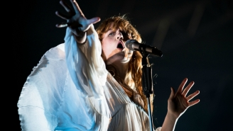 Watch Florence + The Machine Perform At Lollapalooza Through A Crazy Thunderstorm