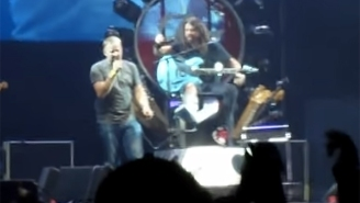 Foo Fighters Brought Up A Fan To Sing 'Tom Sawyer,' And He Absolutely Nailed It