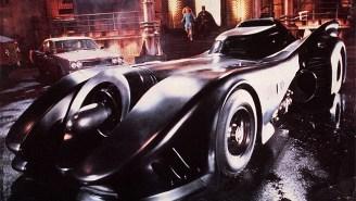 Check Out Footage Of Michael Keaton's 1989 Batmobile Tearing Up 'Batman: Arkham Knight'