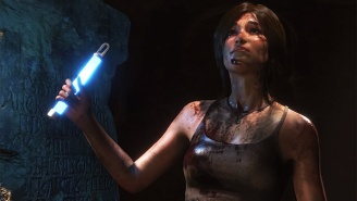 Lara Croft Actually Raids A Tomb In This Latest 'Rise Of The Tomb Raider' Footage