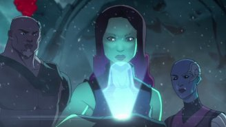 The 'Guardians Of The Galaxy' Cartoon Reveals Gamora's Past