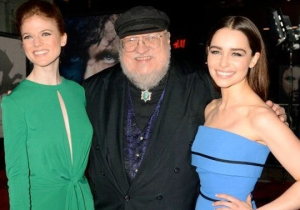 The Author Of The 'Outlander' Books Threw Some Shade At George R.R. Martin