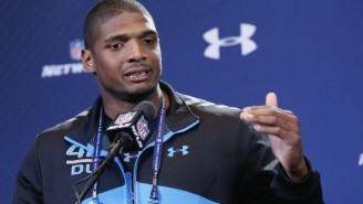 Michael Sam Announces He's Stepping Away From Football For 'Mental Health' Reasons