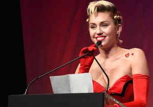 Watch Miley Cyrus Update 'Santa Baby' With A Feminist Message