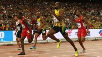 Usain Bolt Overcame A Slow Start To Win The IAAF World Championship In Beijing
