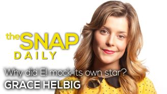 The Snap Daily: Why did E! mock its own star?