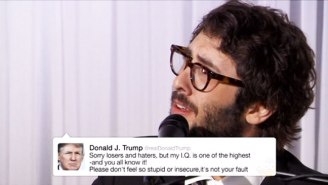 Josh Groban Puts The Best Of Donald Trump's Tweets To Song On 'Kimmel'