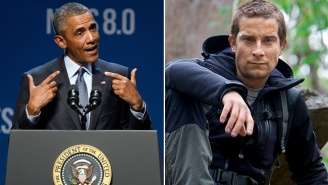 President Obama Will Demonstrate His Survival Skills On 'Running Wild With Bear Grylls'