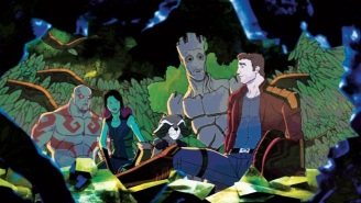 Groot Begins In This New Clip From The Animated 'Guardians Of The Galaxy'