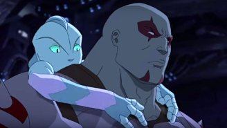 Drax Shows His Softer Side In The New 'Guardians Of The Galaxy' Cartoon