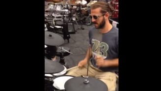 This Drummer Showed Everyone In Guitar Center How It's Done