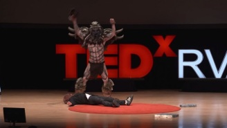 GWAR's New Lead Vocalist Started His TED Talk With A Ritual Sacrifice