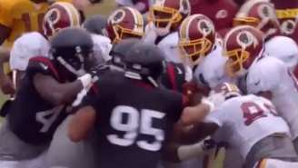 'Hard Knocks' Gives An Inside Look At The Ugly Redskins-Texans Brawl