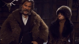 The first trailer for 'Hateful Eight' is HERE
