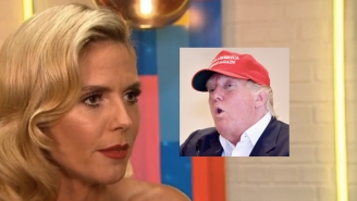 Heidi Klum Is Still Coming After Donald Trump, And Now She's Mad