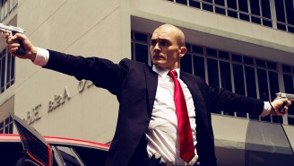 Zachary Quinto reveals his own superpowers in final 'Agent 47' trailer