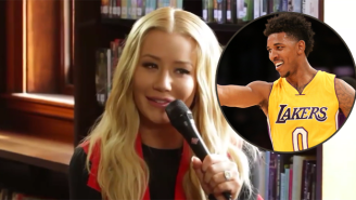 Watch Iggy Azalea Mock 'Idiot' Nick Young And The Terrible Lakers