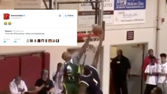 See Trevor Ariza's Perfect Emoji Response After 5'9 Isaiah Thomas Badly Rejects Him