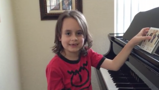 This 7-Year-Old Autistic Boy Absolutely Nails Taylor Swift Songs On The Piano