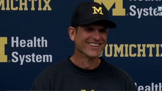 Jim Harbaugh Literally Could Not Believe Michael Jordan Called Him