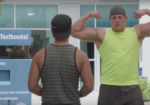 Why Is J.J. Watt Body-Shaming A College Kid In A Gatorade Ad?