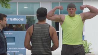 Why Is J.J. Watt Body-Shaming A College Kid In A Gatorade Ad?