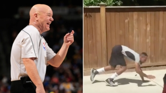 Watch The NBA Impersonator Superbly Lampoon Referee Joey Crawford