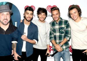 Joey Fatone Penned A Delightfully Brutal Open Letter To The Members Of One Direction