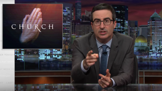 John Oliver Takes On Televangelists And 'Prosperity Gospel' On 'Last Week Tonight'