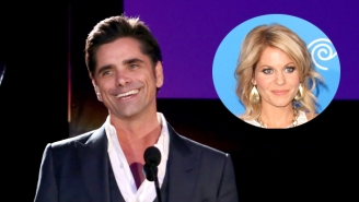 Candace Cameron Bure Openly Wept At John Stamos' Beauty On The 'Fuller House' Set