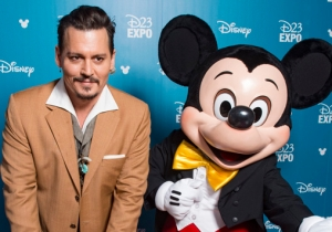 Johnny Depp Surprised Fans To Become A 'Disney Legend' At The D23 Expo