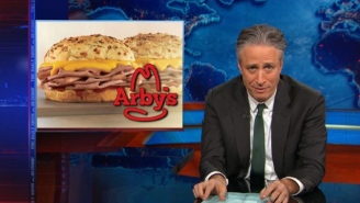 Arby's Embraced The Hate And Named A Sandwich After Jon Stewart