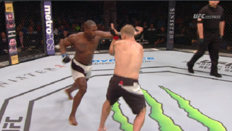Check Out Jonathan Wilson's Huge KO At UFC Nashville