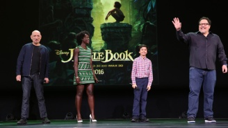 Bill Murray's Baloo And 'The Jungle Book' Impress At Disney's D23 Expo
