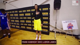 These Impressions Of NBA Stars By Rookies Are Hilarious And Almost Offensive