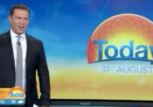Australia 'Today' Host Karl Stefanovic Declares Himself #TeamDryLand After This Insane Shark Video