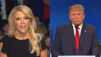 Watch Donald Trump Threaten Megyn Kelly After She Questions His Past Sexist Remarks