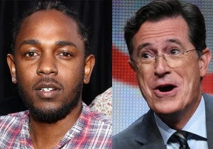 Kendrick Lamar will be Stephen Colbert's first 'Late Show' music act