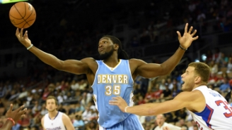 The Nuggets' Kenneth Faried Hopes To Win Defensive Player Of The Year Some Day