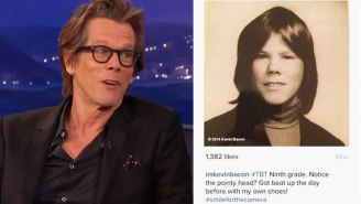Kevin Bacon Talks About The Time He Was Mugged Before Picture Day