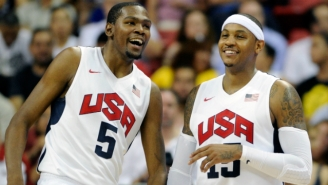 Kevin Durant And Carmelo Anthony Will Actually Practice With Team USA This Week