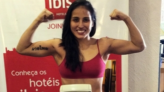 This MMA Fighter Won A Championship While Three Months Pregnant