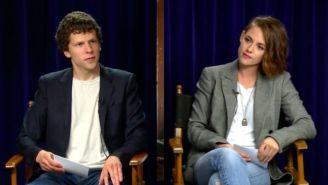 Kristen Stewart Teaches Jesse Eisenberg About Hollywood Sexism In This 'Funny Or Die' Video