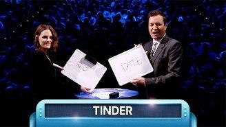 Kristen Stewart Played Word Blurt With Her 'Bestie' Jimmy Fallon