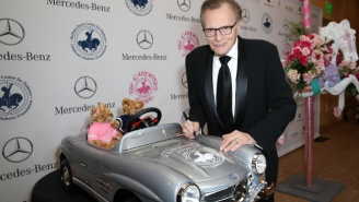Larry King Had A Whole Lot To Say In His 'New York Times' Interview