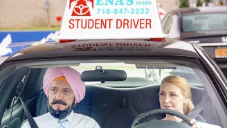 Watch Ben Kingsley teach Patricia Clarkson to drive in this exclusive featurette