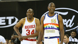 Hakeem Olajuwon And Dikembe Mutombo Were Surprise Participants In NBA Africa