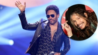 Lenny Kravitz Responds To #PenisGate By Sharing This Text From Steven Tyler